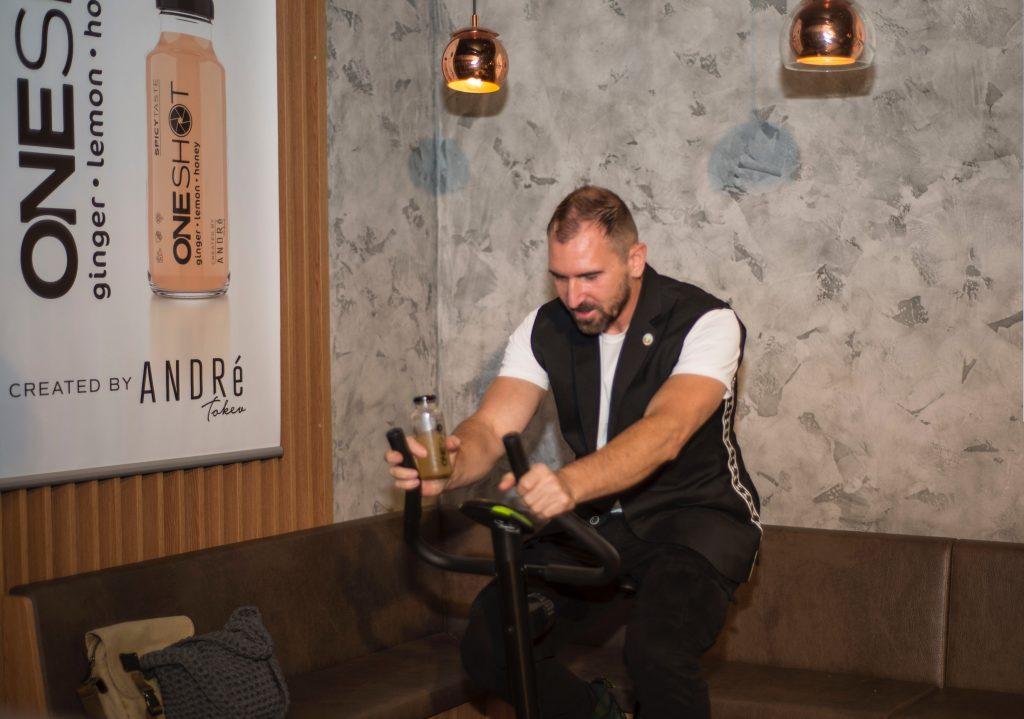 Chef Андре Токев представи своя марка освежаваща напитка