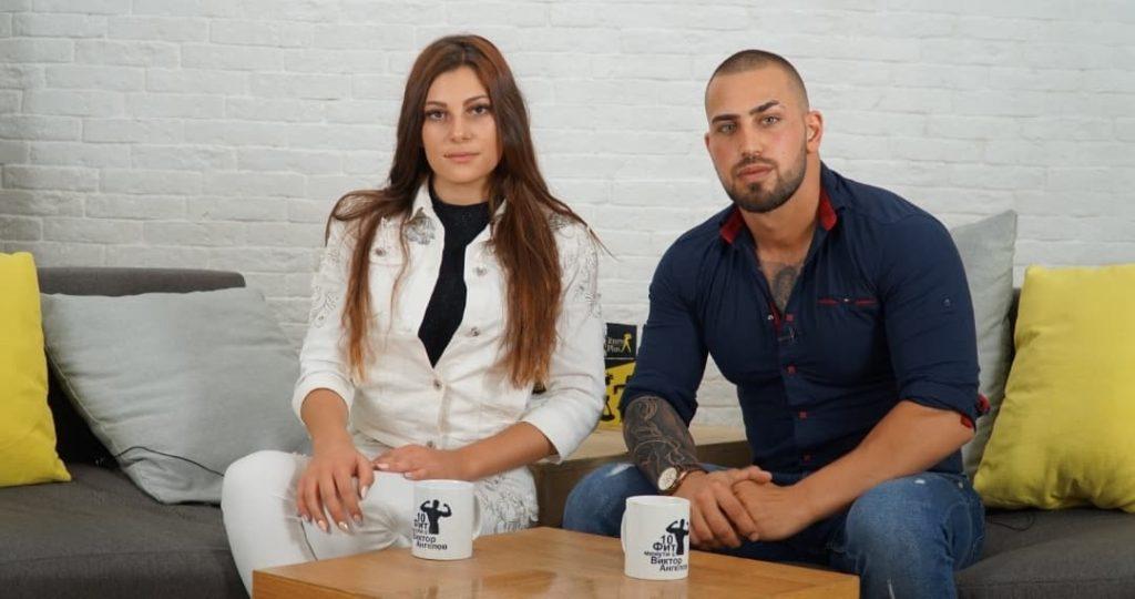 """""""10 фит минути с Виктор Ангелов"""" посреща модела Михаела Тошинова"""