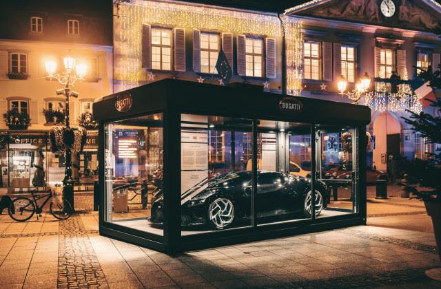 Bugatti La Voiture Noire (Черна кола от френски) стана най-скъпата коледна украса на света