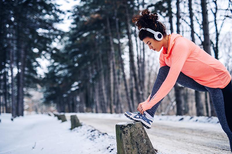 Спортуването в студа гори повече калории