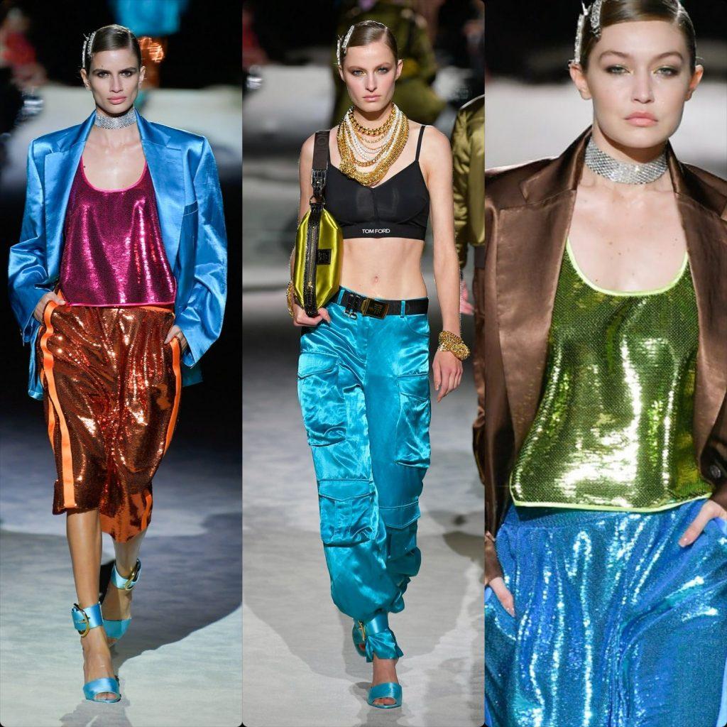 Пайети и диско цветове предлага за следващата пролет Том Форд