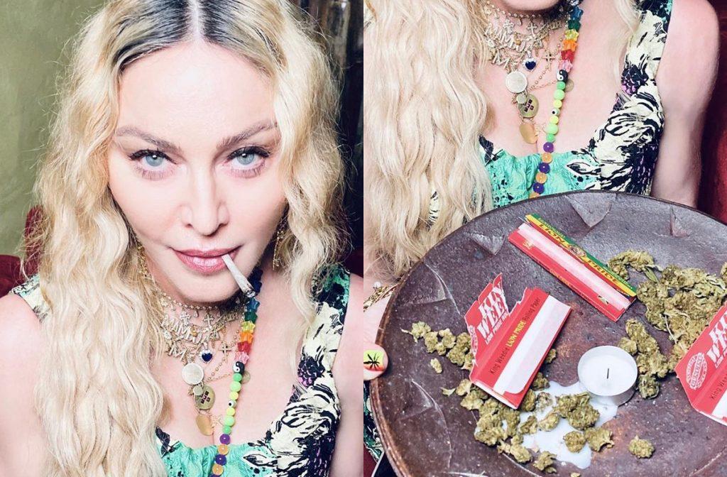 Мадона отпразнува 62-ия си рожден ден в Ямайка с марихуана и млад приятел