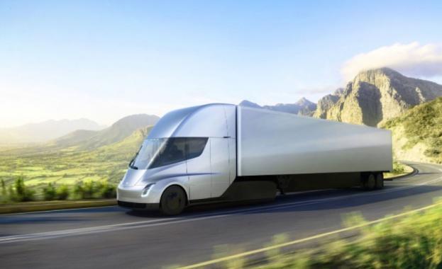 Очаква се скоро електрическият камион на Tesla да влезе в производство